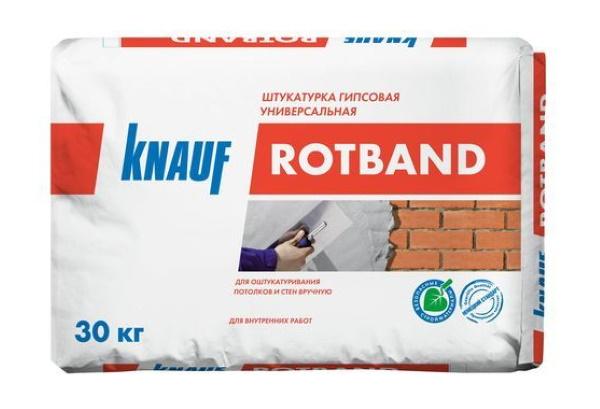 штукатурка Кнауф Ротбанд